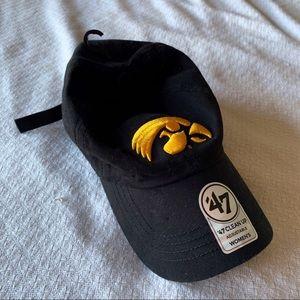 NWT 47 Iowa Hawkeye baseball hat